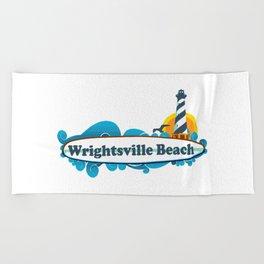 Wrightsville Beach - North Carolina. Beach Towel