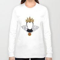 evil queen Long Sleeve T-shirts featuring evil queen by pokegirl93