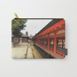 Shrines and Pagodas Carry-All Pouch