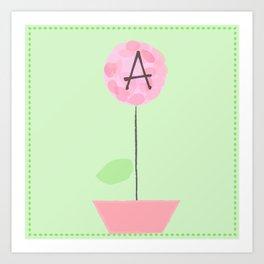 Flower A Art Print