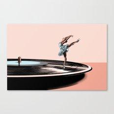 Dancing needle Canvas Print