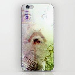 Paul Blart Enters The Matrix iPhone Skin