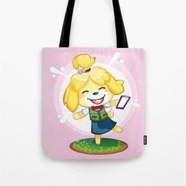 Isabelle Pink Tote Bag