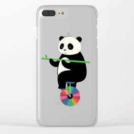 Learn To Balance Your Life Clear iPhone Case