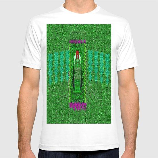 Peace Mermaid Cat T-shirt