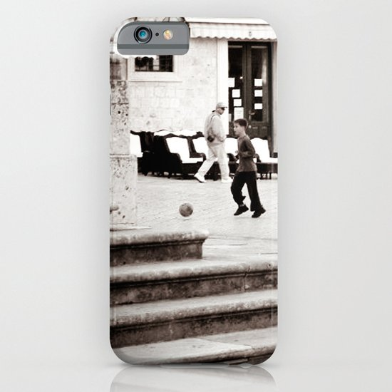 Soccer in the Square iPhone & iPod Case