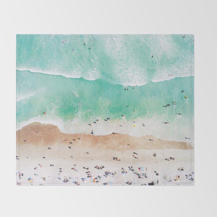 Beach Mood Throw Blanket