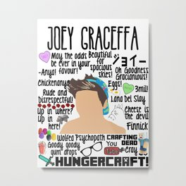 Joey Graceffa College Metal Print