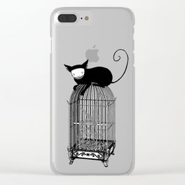 Cages Clear iPhone Case
