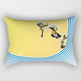 Skate Like a Girl Rectangular Pillow