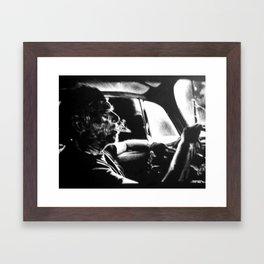 Bukowski's Sunday Drive Framed Art Print