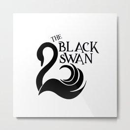 The Black Swan Metal Print