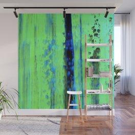 Gerhard Richter Inspired Urban Rain 2 - Modern Art Wall Mural