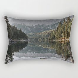 Lake View - Landscape and Nature Photography Rectangular Pillow