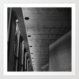 'ARCHITECTURE 2' Art Print