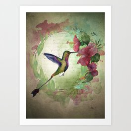 Fleeting serendipity Art Print