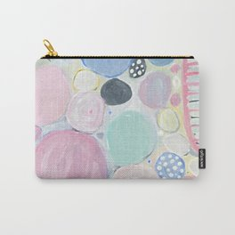Mixed Lollies Abstract Carry-All Pouch