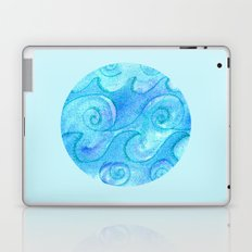Salty Waves Laptop & iPad Skin