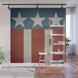 Three Starred Spangle Banner Wall Mural