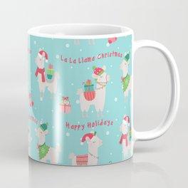 Christmas llamas IV Coffee Mug