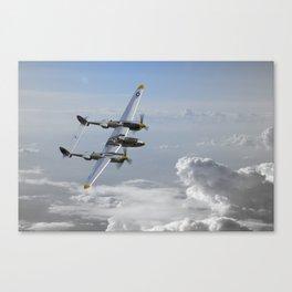 P38 Lightning Patrol Canvas Print