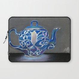 Blue Teapot Laptop Sleeve