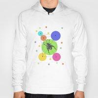 bug Hoodies featuring bug by mark ashkenazi