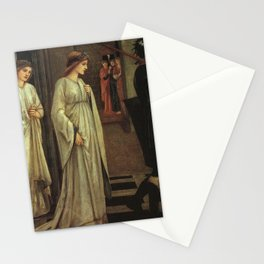 Edward Burne-Jones - Princess Sabra Led to the Dragon Stationery Cards