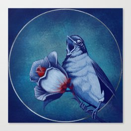 The Nightingale And The Rose Canvas Print