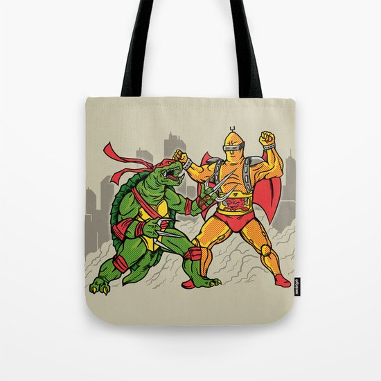 Teenage Mutant Gamera Ninja Tote Bag