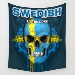 To The Core Collection: Sweden Wall Tapestry