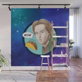 Owen Wilson Whispers Wow to a Taco Wall Mural