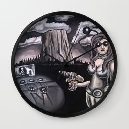 thunderkiss Wall Clock