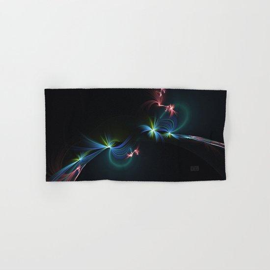 Fey Lights Fractal in Aurora 01 Hand & Bath Towel