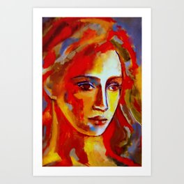 """Warm Glow"" Art Print"
