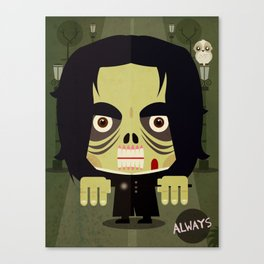 Alan Zombie Canvas Print
