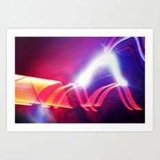 HI LIGHT II Art Print