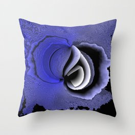 Abstract state of mind Throw Pillow