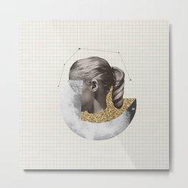 Constellation Girl Metal Print