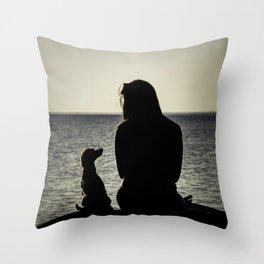 Cornelia & Ester Throw Pillow
