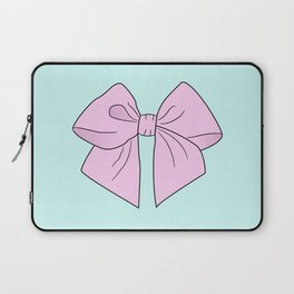 Ice Cream Pink Vector Bow Laptop Sleeve