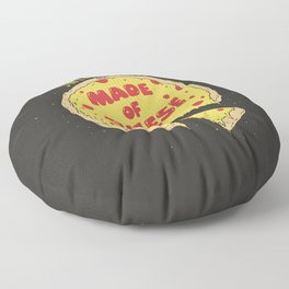 Sweet dreams are made of cheese Floor Pillow