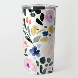 Sierra Floral Travel Mug