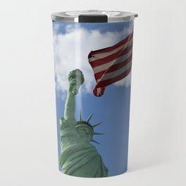 Liberty & Justice Travel Mug