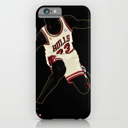 Jordan A Design Poster of Air Jordan 1's 23 iPhone Case