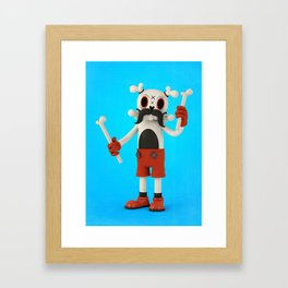 Mr.Bones Framed Art Print