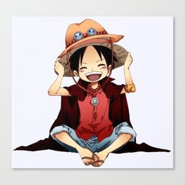 Luffy Canvas Print
