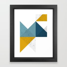 Modern Geometric 19 Framed Art Print