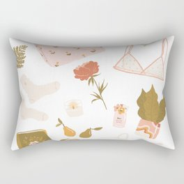 Girly stuff Rectangular Pillow