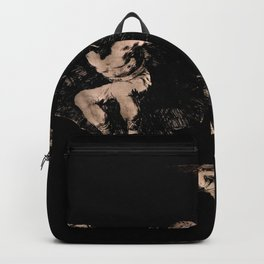 """Francisco Goya """"Where There's a Will There's a Way (A way of Flying)"""" Backpack"""
